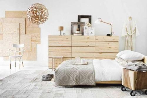 Căn phòng nhỏ sẽ phù hợp hơn với màu trung tính